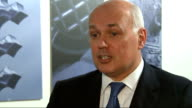 Iain Duncan Smith claims benefit cuts are putting more people into work ENGLAND London INT Iain Duncan Smith MP interview SOT the number of people...