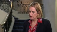 Iain Duncan Smith speaks publicly after resignation London Amber Rudd MP interview SOT His department put forward this proposal and then the...