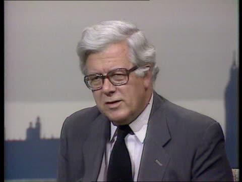 Ian Gow Murdered Intvw Sir Geoffrey Howe MP