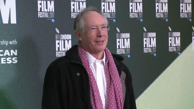 Ian McEwan at Embankment Gardens Cinema on October 08 2017 in London England