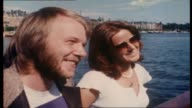 """Ian 'Molly' Meldrum interviews ABBA on board tall ship """"Agnes Stockholm"""" as they sail around Stockholm Harbor topics include their new single 'Money..."""