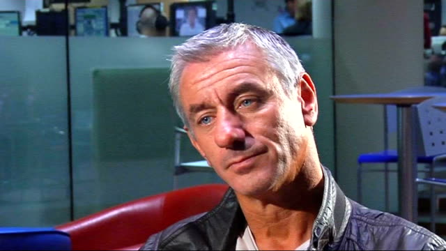 Ian Rush interview Rush interview SOT Will be difficult for Wales to qualify for World Cup/Should be looking to finish third in qualifying group/If...
