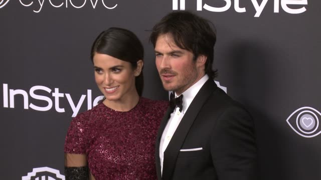 Ian Somerhalder and Nikki Reed at 18th Annual InStyle And Warner Bros Pictures Golden Globes AfterParty at The Beverly Hilton Hotel on January 08...