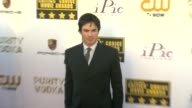 Ian Somerhalder at 19th Annual Critics' Choice Movie Awards Arrivals at The Barker Hanger on in Santa Monica California