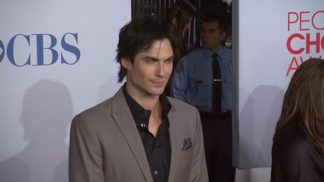Ian Somerhalder at 2012 People's Choice Awards Arrivals on 1/11/12 in Los Angeles CA