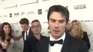 INTERVIEW Ian Somerhalder at Elton John AIDS Foundation Presents 21st Annual Academy Awards Viewing Party Sponsored By Chopard Neuro Drinks And Wells...