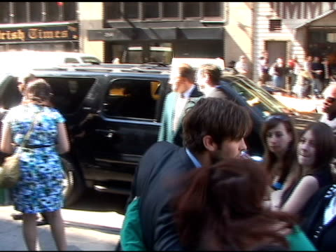 Ian Somerhalder at Madison Square Garden at the Celebrity Sightings in New York at New York NY