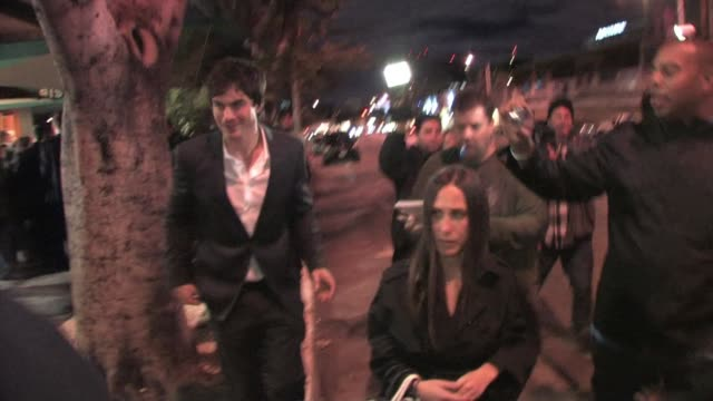 Ian Somerhalder at Medo in West Hollywood at the Celebrity Sightings in Los Angeles Part 2 at Los Angeles CA