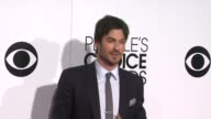 Ian Somerhalder at the 40th Annual People's Choice Awards Arrivals at Nokia Theatre LA Live on in Los Angeles California