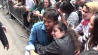 Ian Somerhalder at The London hotel and poses for photos with fans in Celebrity Sightings in New York