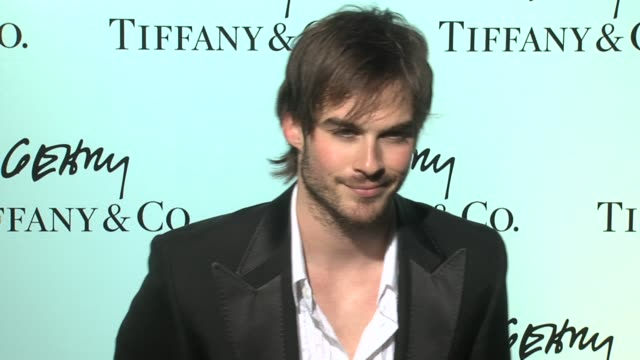 Ian Somerhalder at the Tiffany Co Celebrates the Launch of Frank Gehry's Premiere Collection on Rodeo Drive at Tiffany Co in Beverly Hills California...