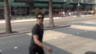 Ian Somerhalder talks about fun at Comic Con on streets of San Diego Comic Con at Celebrity Sightings ComicCon International 2013 Celebrity Sightings...