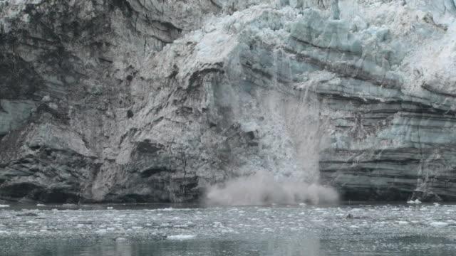 Ice Kalbender Gletscher