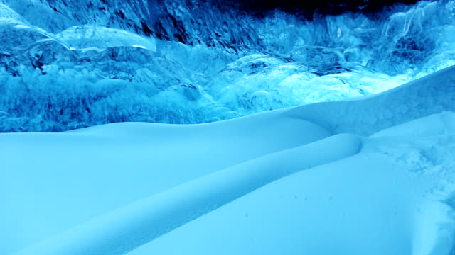 Ice Cave Panorama in Iceland