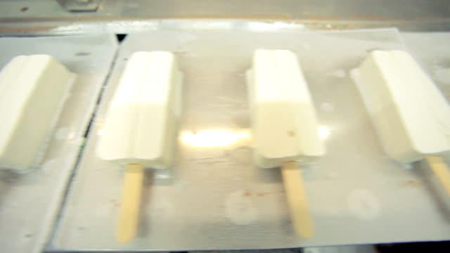 Ice cream production