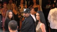 Ice Cube arriving to the Straight Outta Compton Premiere at LA Live in Los Angeles in Celebrity Sightings in Los Angeles