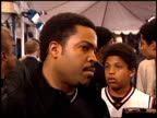 Ice Cube at the 'All About the Benjamins' Premiere at the Mann Village Theatre in Westwood California on March 6 2002