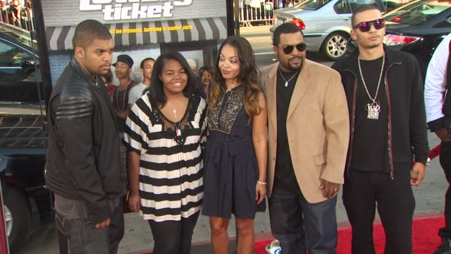 Ice Cube at the 'Lottery Ticket' Premiere at Hollywood CA
