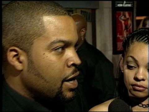 Ice Cube at the Premiere of 'The Players Club' on April 6 1998