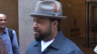 Ice Cube going to his car outside of SiriusXM Satellite Radio in Celebrity Sightings in New York