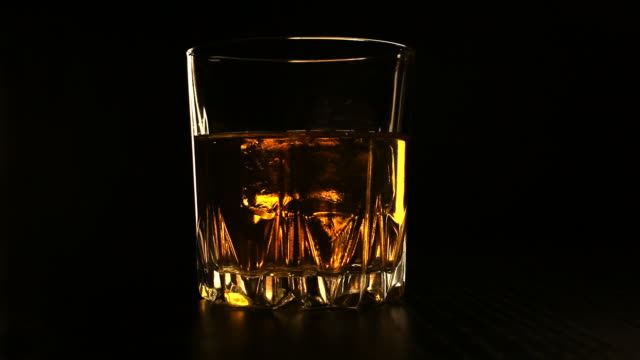 Ice cube in my whisky