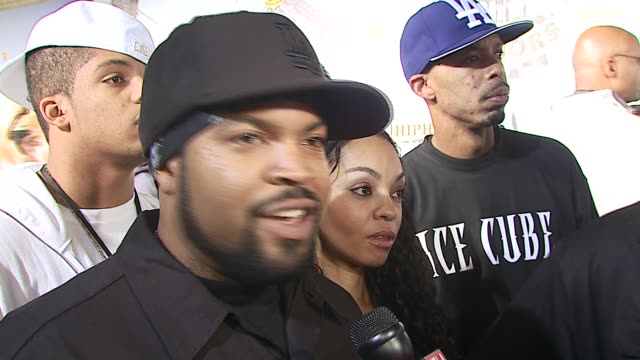 Ice Cube/ Rapperhonoree/ Tells us what it feels like to be honored tells us what to look forward to in his performance And why its important to have...