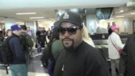 INTERVIEW Ice Cube talks about Oakland Raiders going to Las Vegas while arriving at LAX Airport in Los Angeles in Celebrity Sightings in Los Angeles
