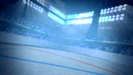 Ice Hockey Arena Background Loop