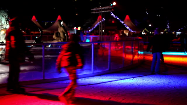 Ice Rink at Christmas Market