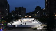 Ice Skating in Downtown Providence Rhode Island