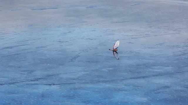 Ice Wind Surfer