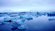 Icebergs in Jokulsorlon lagoon, Iceland