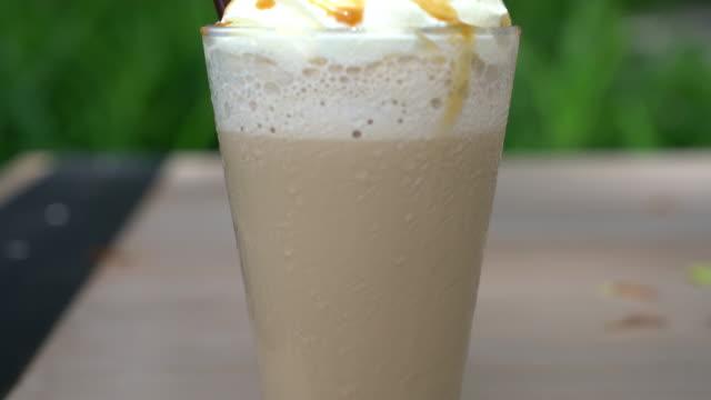 Eistee Cappuccino Kaffee