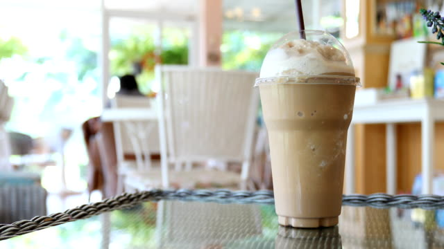 Iced coffee drink