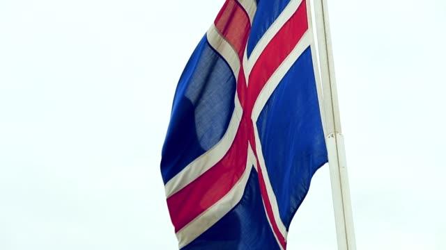 Island Flagge, Slow-motion