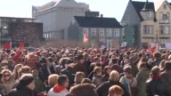Iceland holds a major anti government rally in a test of the oppositions ability to mobilise support following the Panama Papers scandal revelations...