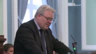 Icelands lawmakers hold a discussion in parliament ahead of a vote of confidence later today on the countrys new coalition government headed by Prime...