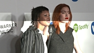 Icona Pop at Warner Music Group Hosts Annual Grammy Celebration in Los Angeles CA