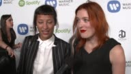 INTERVIEW Icona Pop on the event highlights of the show their new project at Warner Music Group Hosts Annual Grammy Celebration in Los Angeles CA