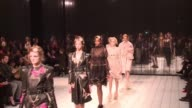 Iconic fashion label Alexander McQueen returned to the London Fashion Week catwalk on Sunday for the first time in 14 years with a collection by...