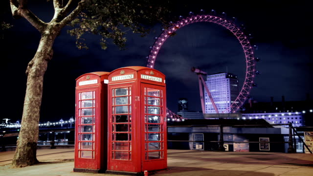 Iconic Phone Booths in London