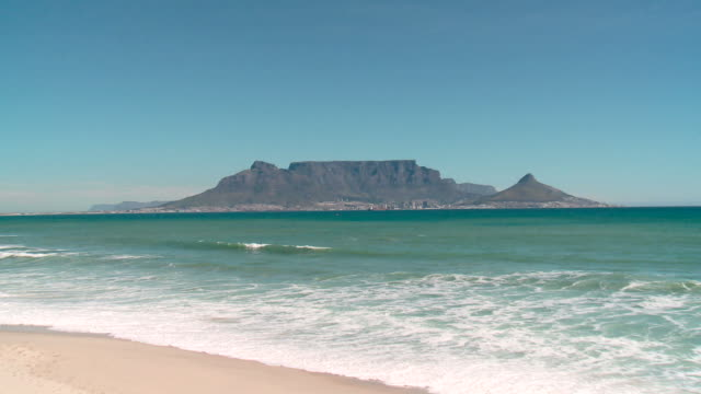 iconic view of table mountain, cape town