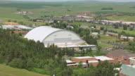 MS AERIAL Idaho Dome at University of Idaho / Moscow, Idaho, United States