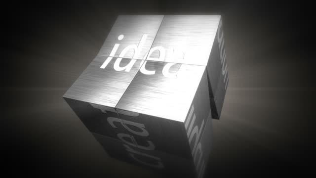 Concetto di cubo