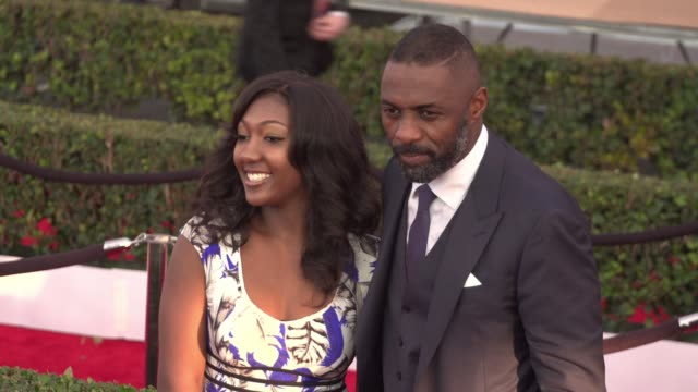 Idris Elba at 22nd Annual Screen Actors Guild Awards Arrivals in Los Angeles CA