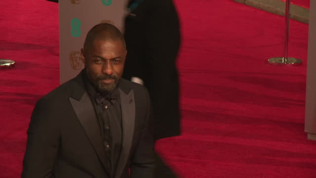 Idris Elba at The EE British Academy Film Awards at The Royal Opera House on February 14 2016 in London England