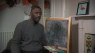 Idris Elba launches campign to help illiterate adults ENGLAND London INT Idris Elba interview SOT re Project Literacy campaign to help illiterate...