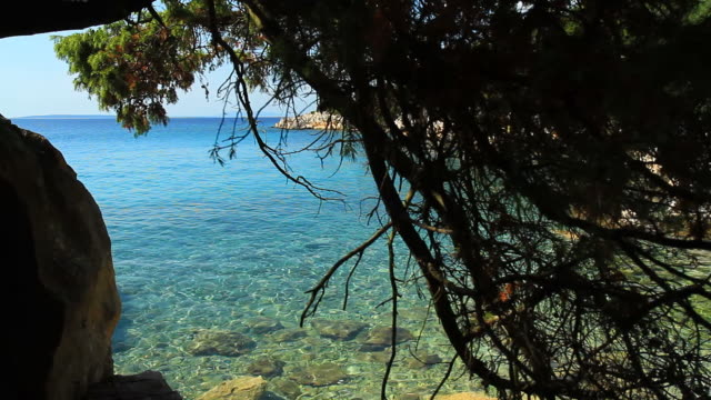 HD DOLLY: Idyllic Mediterranean Beach