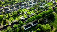 AERIAL: Idyllic Village in Germany
