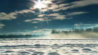 DOLLY HD: Idilliaca campagna invernale